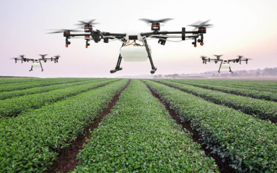 Farmers Use Drone Technology to Combat Pests in 2018
